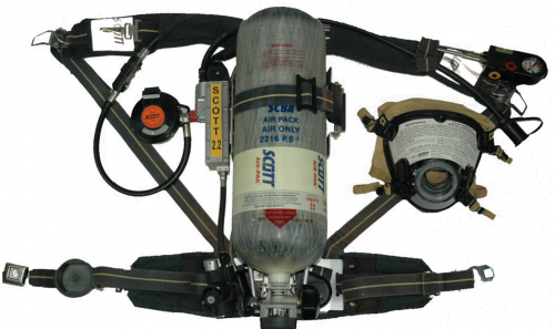 SCOTT AP50 CBRN 2002 SPEC - REFURBISHED SCBA