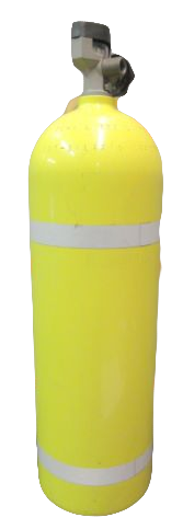 Drager 30 minute 2216 psi Aluminum Clyinder